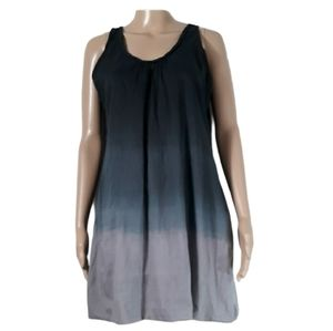 Andrew & co color block dress size small